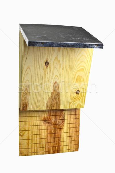 wooden batbox Stock photo © tiero