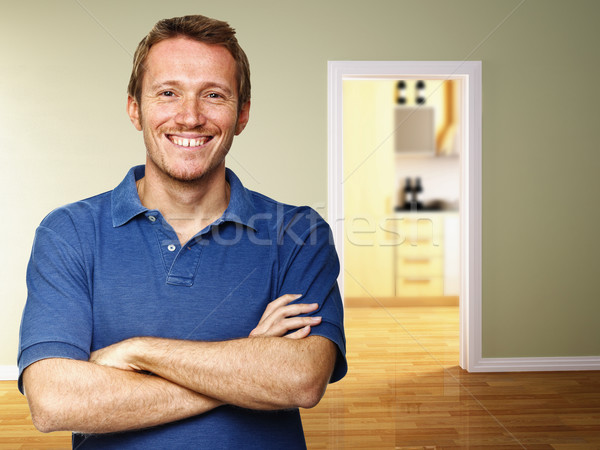 человека домой классический изображение 3D Сток-фото © tiero