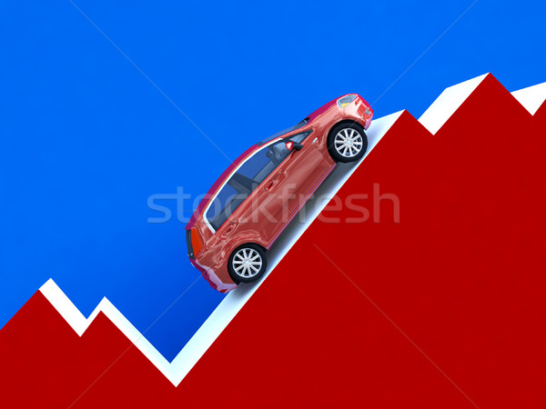 car stat business Stock photo © tiero