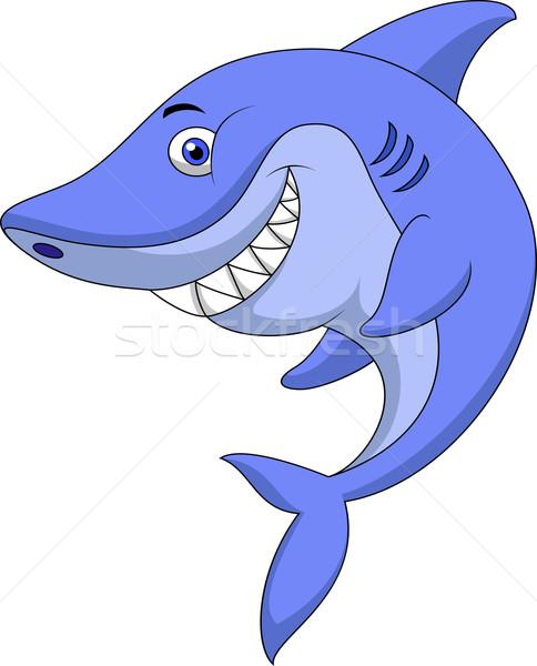 可爱 鲨鱼 漫画 性质 设计 商业照片 tigatelu