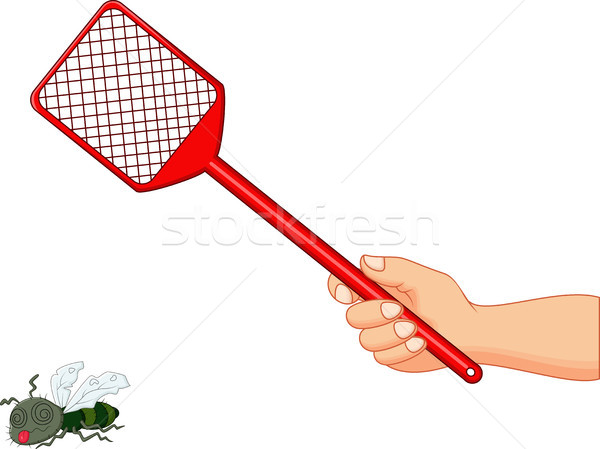 Illustration of fly swatter  Stock photo © tigatelu