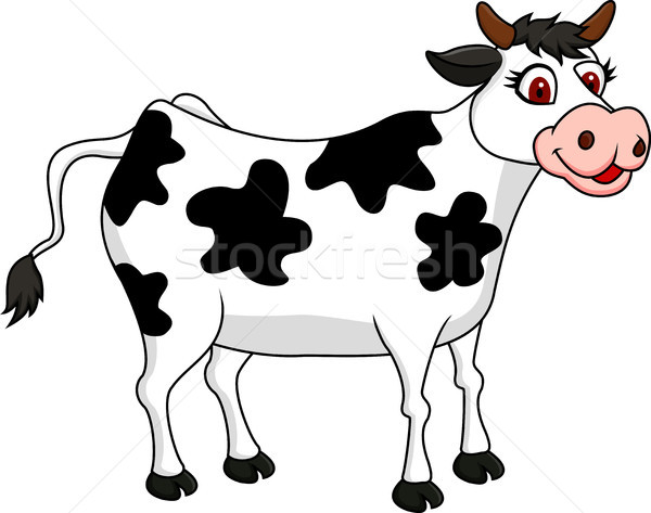 Cow cartoon Stock photo © tigatelu
