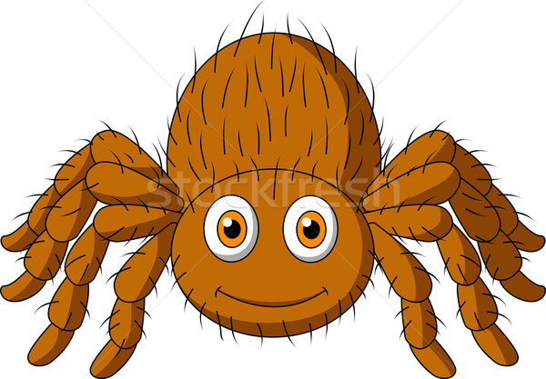 Cute tarantula cartoon Stock photo © tigatelu