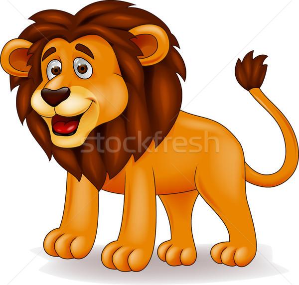 Lion cartoon Stock photo © tigatelu
