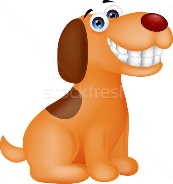 Funny puppy cartoon Stock photo © tigatelu