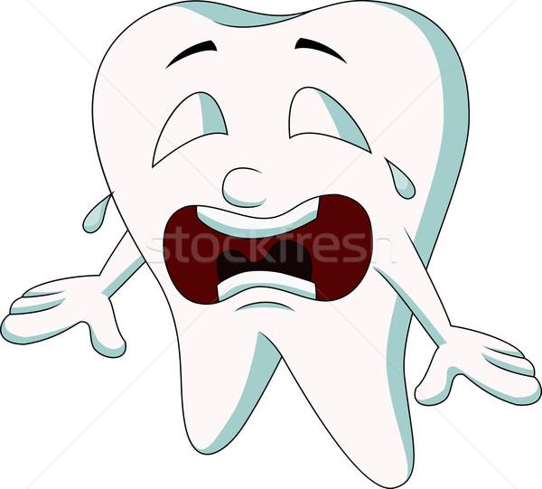 牙的矢量图