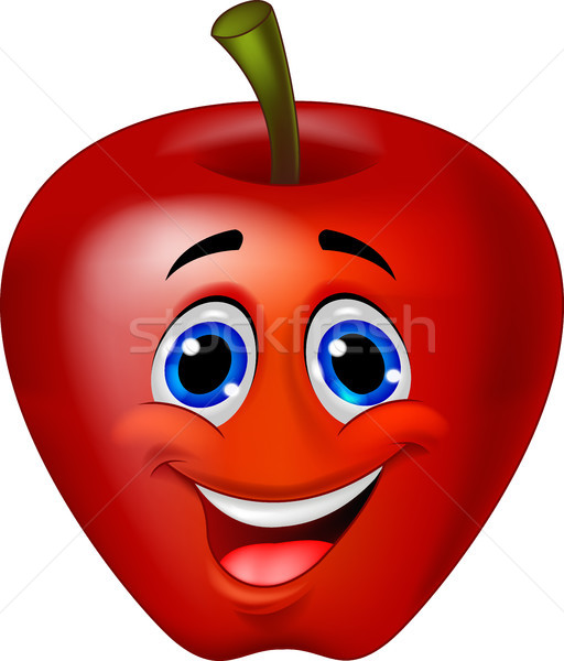 Apple cartoon character Stock photo © tigatelu