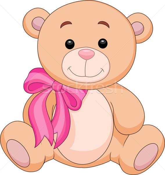 Bonitinho tenha desenho animado sessão feliz criança Foto stock © tigatelu