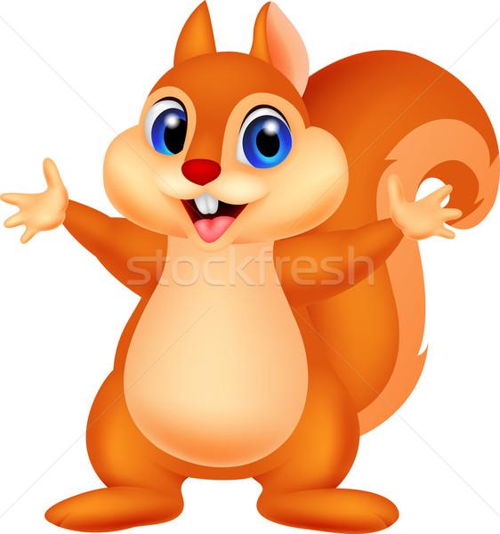 商业照片: 可爱 · 松鼠 ·手· 动物 · 微笑