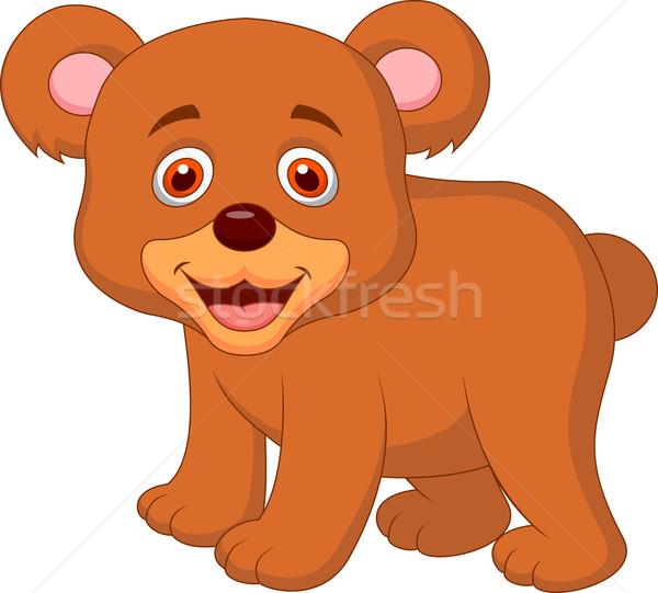 Bonitinho bebê tenha desenho animado feliz criança Foto stock © tigatelu