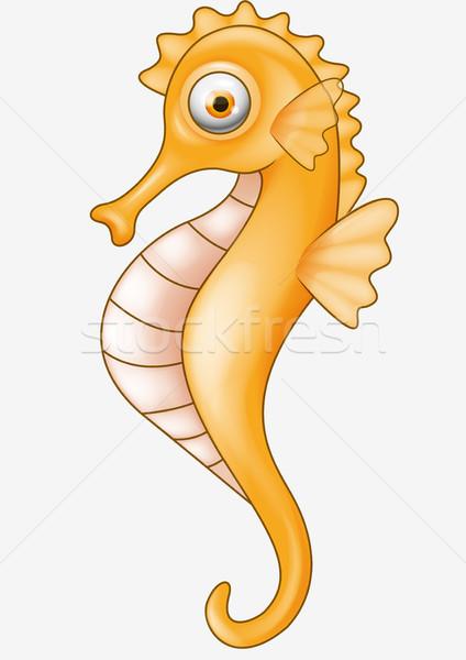 Seahorse cartoon Stock photo © tigatelu