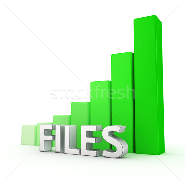 Growth of Files Stock photo © timbrk