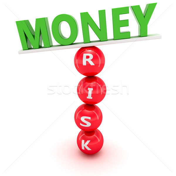 Financeiro mercado instável construção verde palavra Foto stock © timbrk