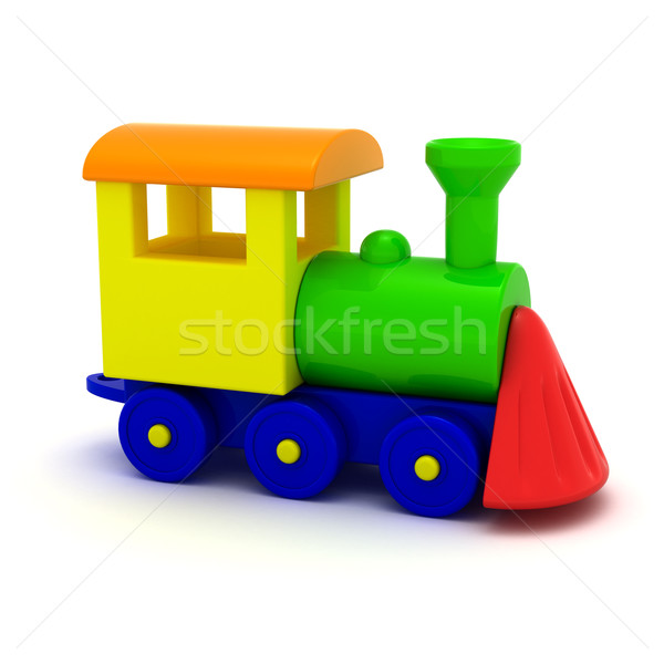 Locomotive Stock photo © timbrk