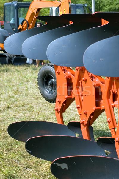 Eke új fém gép acél gép Stock fotó © timbrk