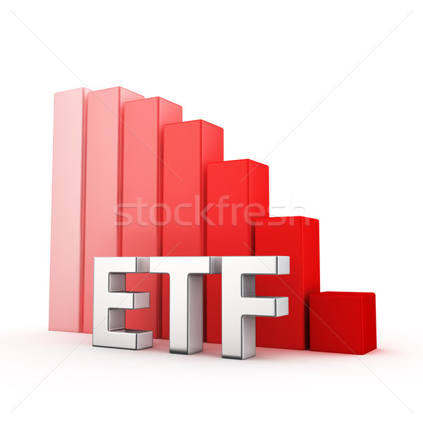 Reduction of ETF Stock photo © timbrk