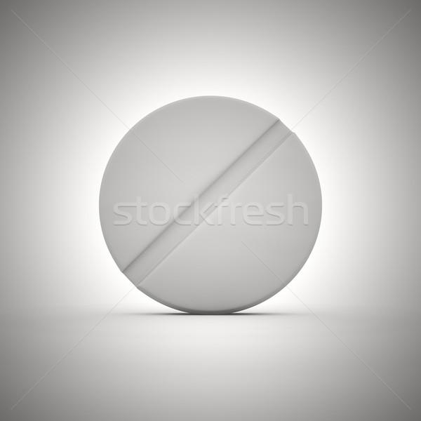 таблетка большой белый медицинской таблетки аптека Сток-фото © timbrk