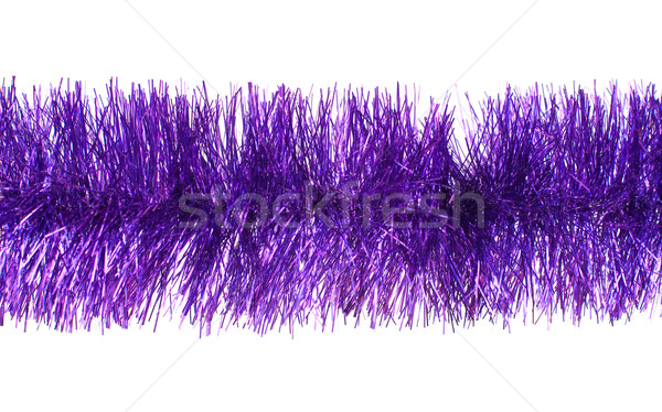 Violet tinsel Stock photo © timbrk