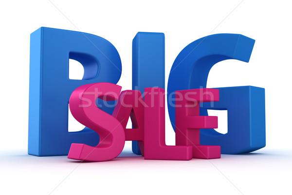 Stock photo: Big sale offer