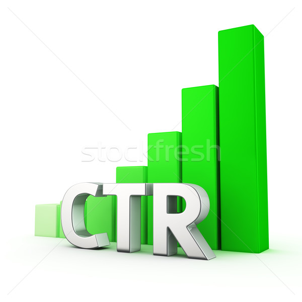 Growth of CTR Stock photo © timbrk