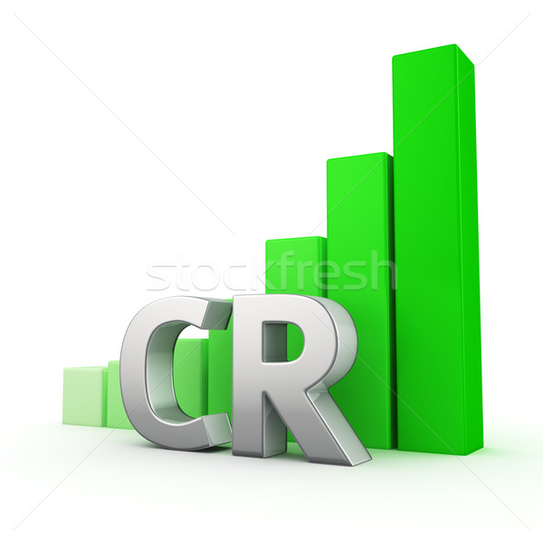 Growth of CR Stock photo © timbrk