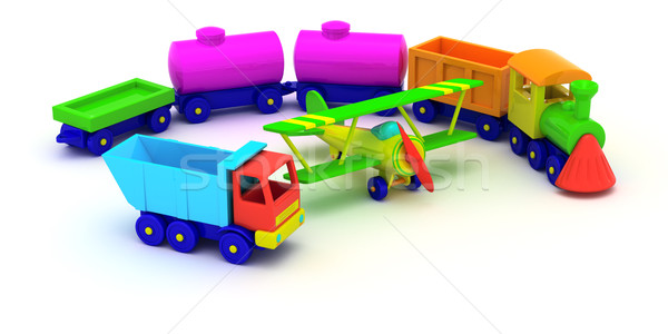 Toy transport Stock photo © timbrk
