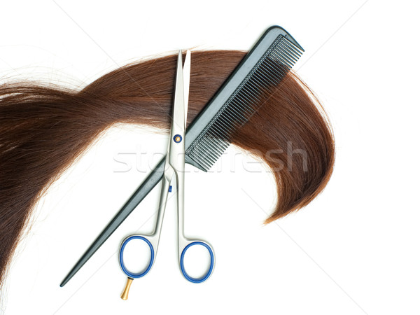 Haircutting tools Stock photo © timbrk