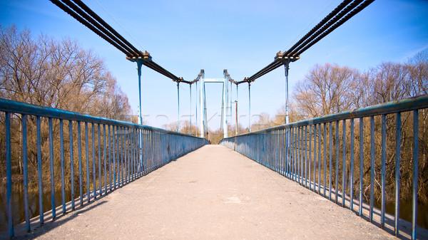 Footbridge Stock photo © timbrk