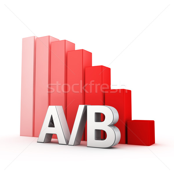 Stock photo: Reduction of AB