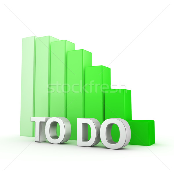 Reduction of To do Stock photo © timbrk