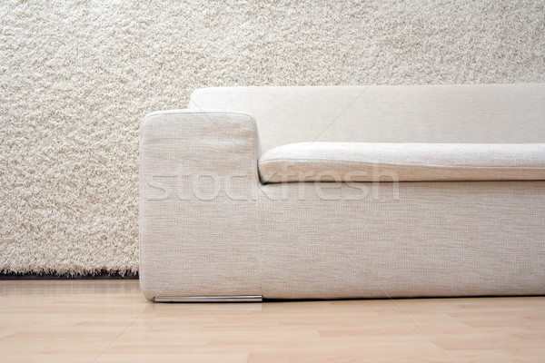 White sofa Stock photo © timbrk