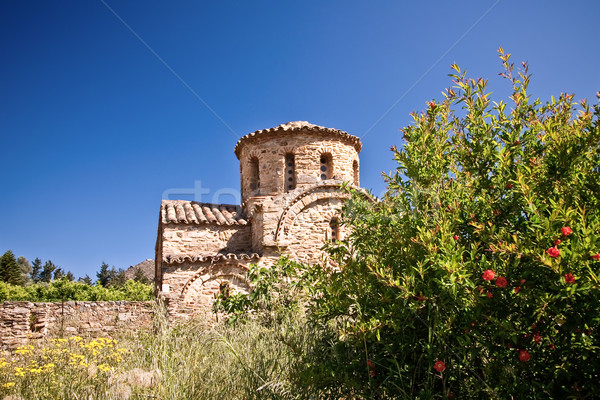 Byzantine Church in Fodele  Stock photo © timbrk