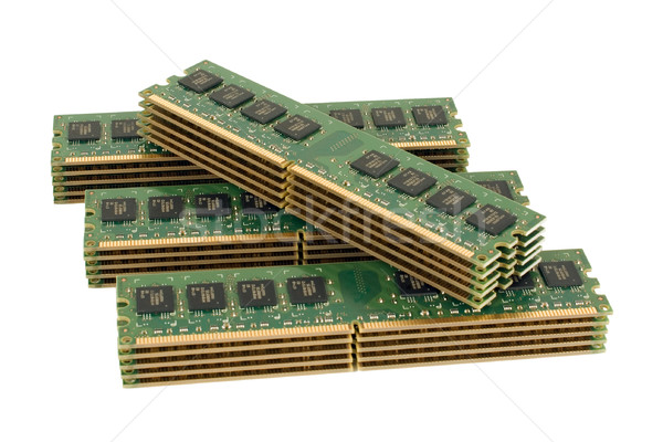 コンピュータ メモリ 緑 デジタル データ ストックフォト © timbrk