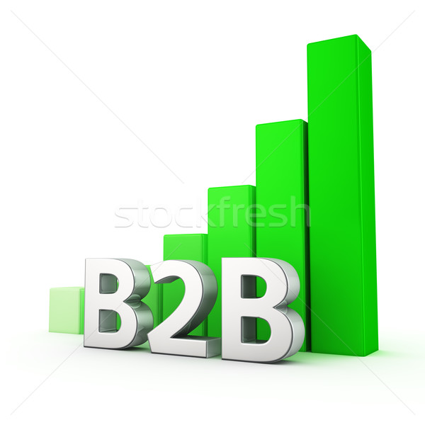 Growth of B2B Stock photo © timbrk