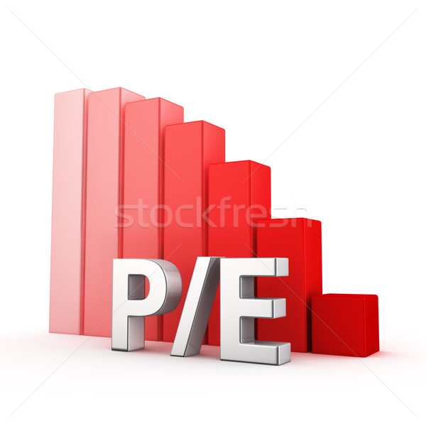 Reduction of P/E Stock photo © timbrk