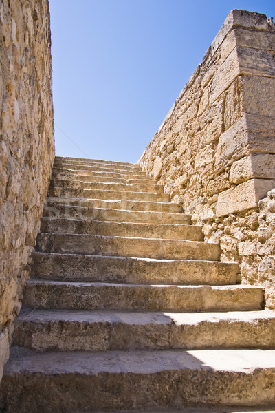 Stone stairs Stock photo © timbrk