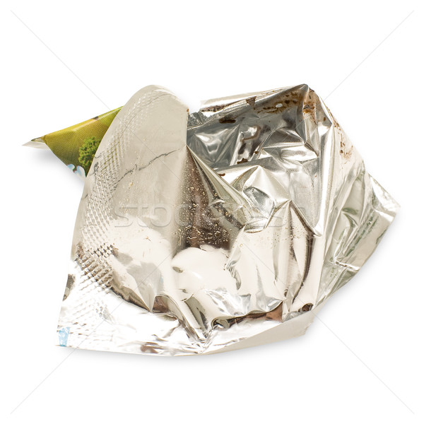 Crumpled wrapper Stock photo © timbrk