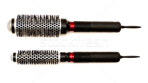 Set of hairbrushes Stock photo © timbrk