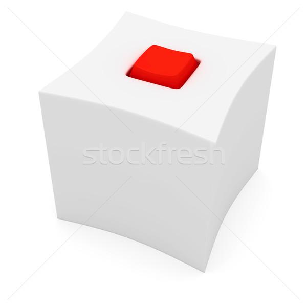 окна красный ключевые странно белый таинственный Сток-фото © timbrk