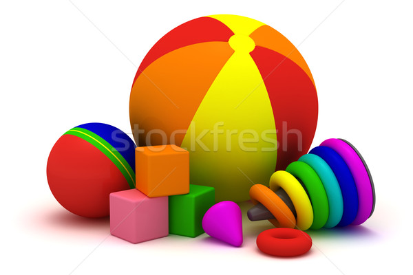 Children's toys Stock photo © timbrk