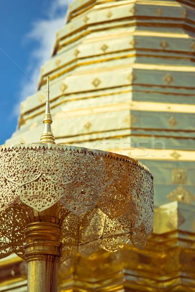 дизайна поклонения архитектура зонтик Сток-фото © timbrk