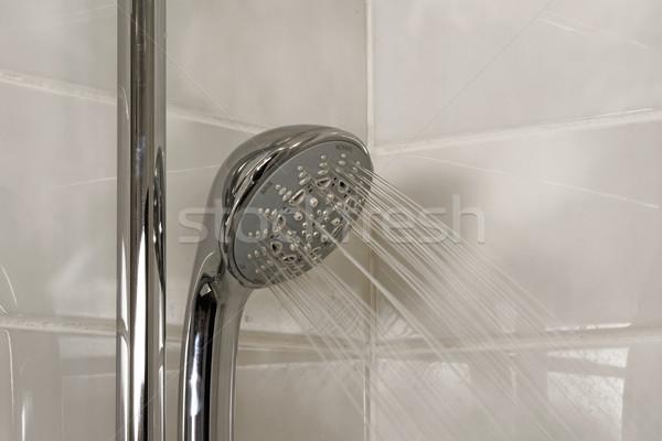 Showerhead stream Stock photo © timbrk