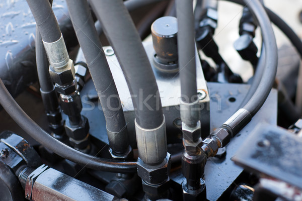 Stock photo: Hoses connection