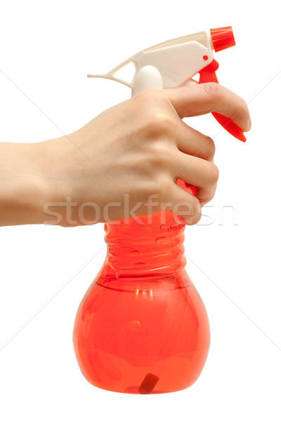Sprayer in hand Stock photo © timbrk