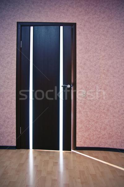 свет за двери луч стены Сток-фото © timbrk