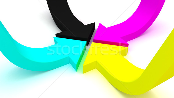 CMYK Stock photo © timbrk