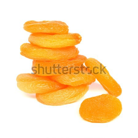 Dried apricots column Stock photo © timbrk