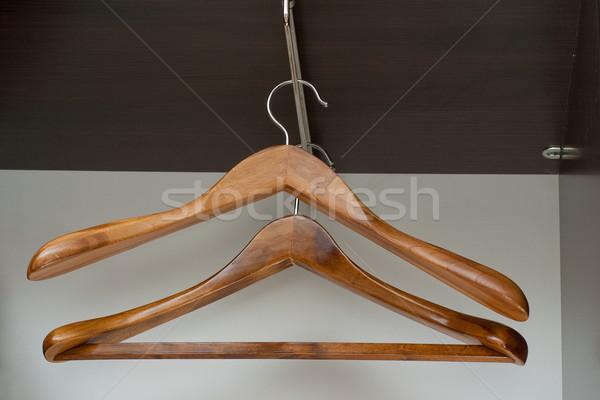 пусто гардероб пару фон белый Сток-фото © timbrk