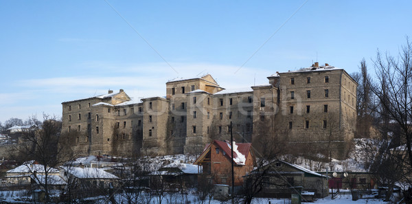 Ancient barracks Stock photo © timbrk