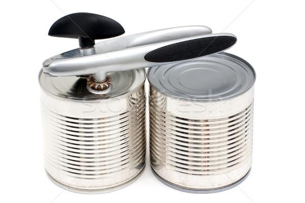 металл изолированный белый фон кухне стали Сток-фото © timbrk